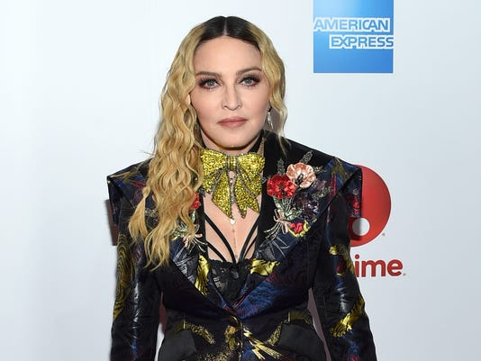 AP PEOPLE MADONNA A ENT FILE USA NY
