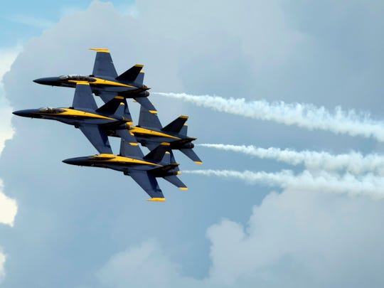 The Blue Angels, the U.S. Navy's elite flight demonstration