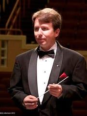 Colbert Page Howell directs the Vero Beach Chamber Orchestra.