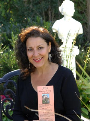 Shown in her Spring Lake home is Valerie Raffetto. owner of Villa Tre Angeli Bed & Breakfast and Tours, a 15-year-old Spring Lake-based company that operates a bed & breakfast in Bedonia, Italy.