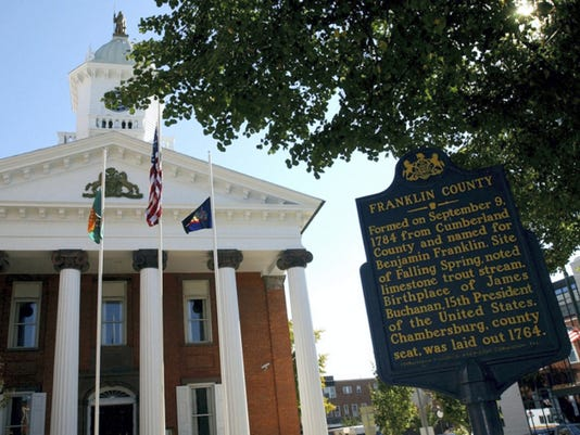 Four Republican candidates have emerged for Franklin County Sheriff, and all four are concerned about how to improve security at the Franklin County Courthouse.