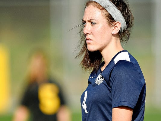 A knee injury has prevented Sarah Conroy from taking the field this season for the Dallastown girls' soccer team.