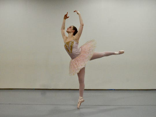 "Ashlen Loskot, who has been with the WFBT for 20-plus years, is going to dance the coveted role of The Sugar Plum Fairy in Saturday's ""The Nutcracker."""