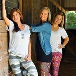 Lisa Beggs, LuLaRoe Sales Consultant, modeling LuLaRoe clothing.