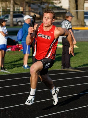 Muskego senior Justin Kotarak has helped the team's sprint relays become some of the best in the state.