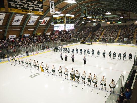 Darthmouth vs. Vermont Men's Hockey 01/08/16