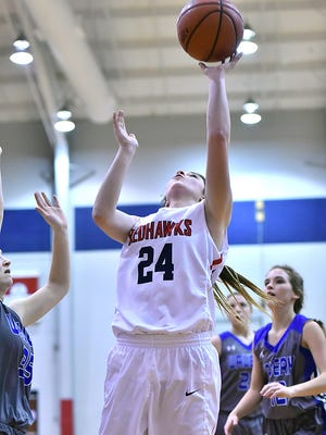Taylor Moore led Creek Wood against Cascade in the opening round of the region tourney.
