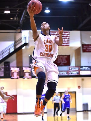 Dickson Co. High's Lea Lea Carter will take part in the McDonald's All-American game in Chicago Wednesday evening.