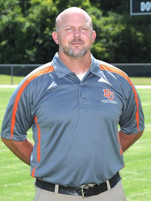 Dickson County  head football coach Randy Murphree