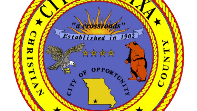 The current seal of the City of Nixa.