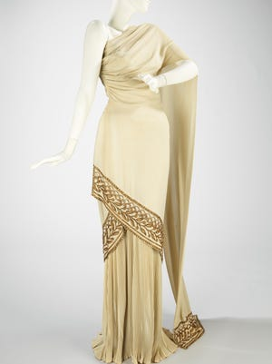 Mme. Eta Hentz (American, born Hungary), Evening Dress, 1944, Brooklyn Museum Costume Collection at The Metropolitan Museum of Art, Gift of the Brooklyn Museum, 2009; Gift of Madame Eta Hentz, 1946, 2009.300.119