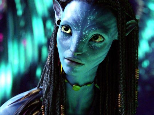 In 2009, Zoe Saldana voiced Neytiri, a character from