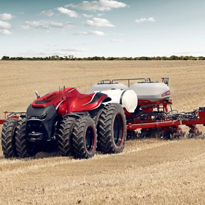 Video: Driverless tractor