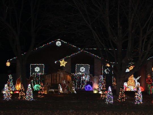 Lights on La Siesta Street, Jonathan Gugel, 4739 W. La Siesta St.;http://sgfnow.co/2h04Myd