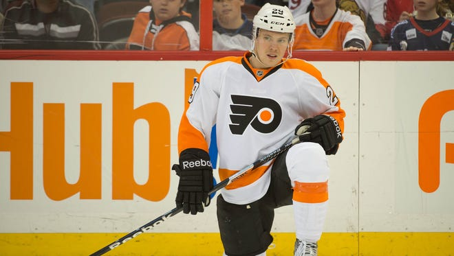 Erik Gustafsson played in only 31 games for the Flyers this season.
