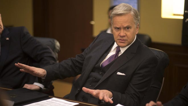 Tim Robbins plays U.S. Secretary of State Walter Larson in HBO's 'The Brink.'