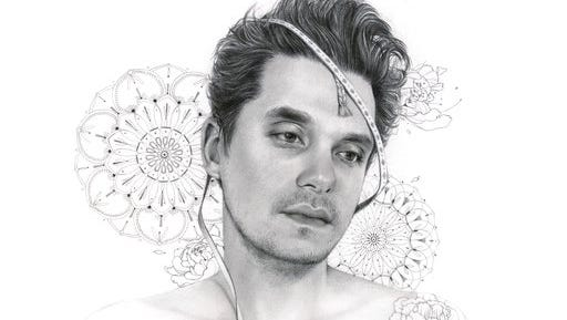 "This cover image released by Columbia Records shows, ""The Search for everything,"" by John Mayer."