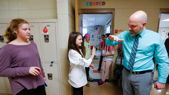 Pokin Around: This SPS fifth-grade teacher has special greeting for each of 52 students