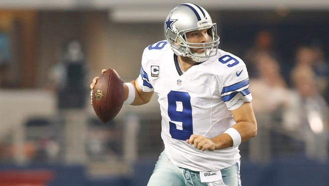 QB Tony Romo retires as the Cowboys' all-time leading passer.