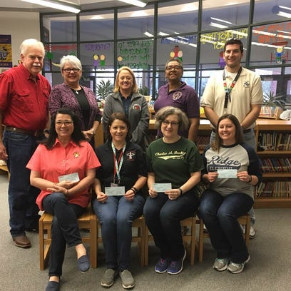 Knights of Columbus donation to help four school libraries