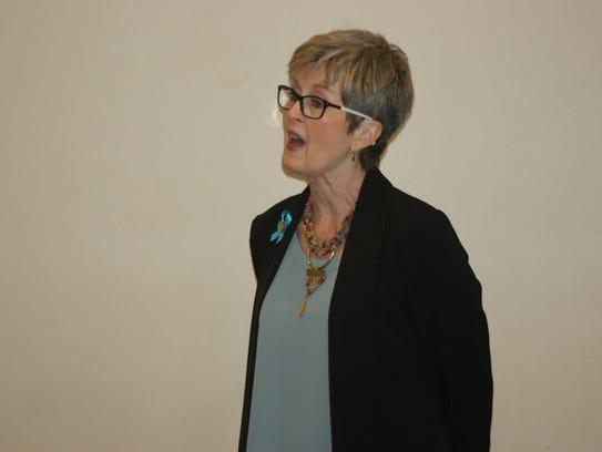 Marcie Seidel, executive director of the nonprofit