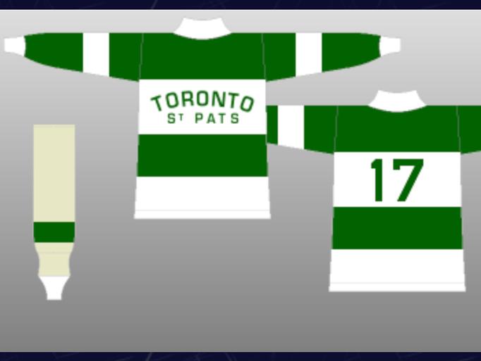 Prior to the 1919-20 season, the Toronto Arenas were