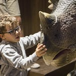 Free Dino Day at OdySea in the Desert. Dig for fossils, play with roaming dinosaurs