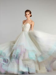 Wedding Dress Colored
