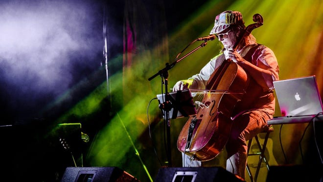 Cellotronik is Skip vonKuske's live laptop and cello project. He will be playing Thursday at Boon's Treasury.