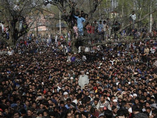 APTOPIX India Kashmir Fighting