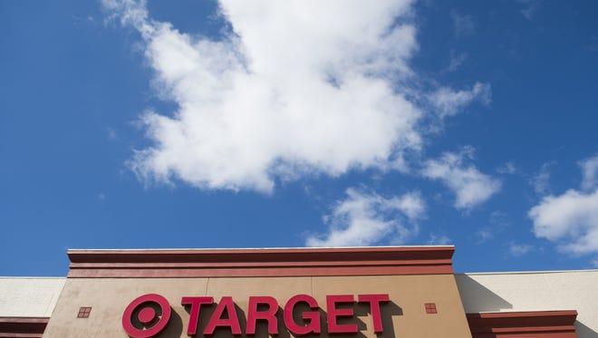 Target reports firrst quarter earnings.