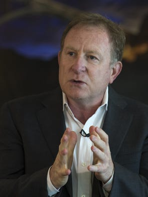 Suns Managing Partner Robert Sarver answers questions