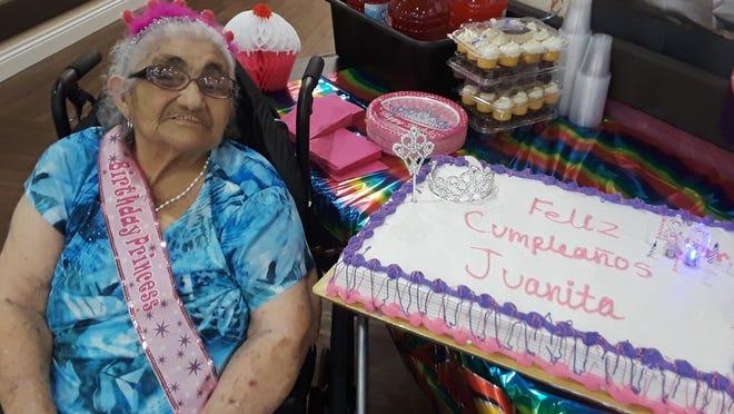 On Friday, The Premier of Alice celebrated the 89th birthday of San Juanita Razos.