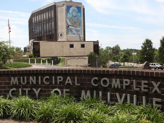 Millville City Hall for carousel, Sunday, Jun. 22,