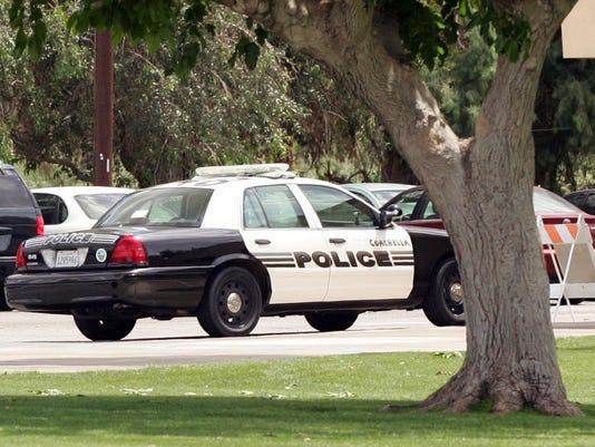Coachella Police car