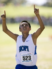 Hopi High boys cross country had been No. 1 ... for