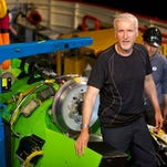 Film director James Cameron reached the deepest point on the planet, the Mariana Trench, in a custom-built, single-occupancy submersible.