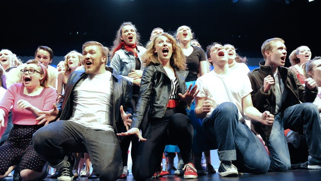 York County students perform a finale number at Encore, an annual event that celebrates the talent of high school performers. The event returns to Central York High School on Sunday, April 23.