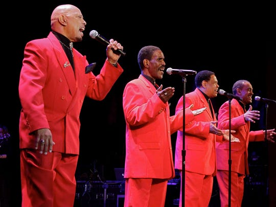 Classics Tunes from the 1950s and 1960s will be heard when The Coasters, above, and the Drifters perform at The Theatre at Raritan Valley Community College in Branchburg at 2 p.m. Sunday, Feb. 14.