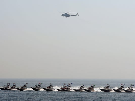Iranian warships heading to USA to show reach