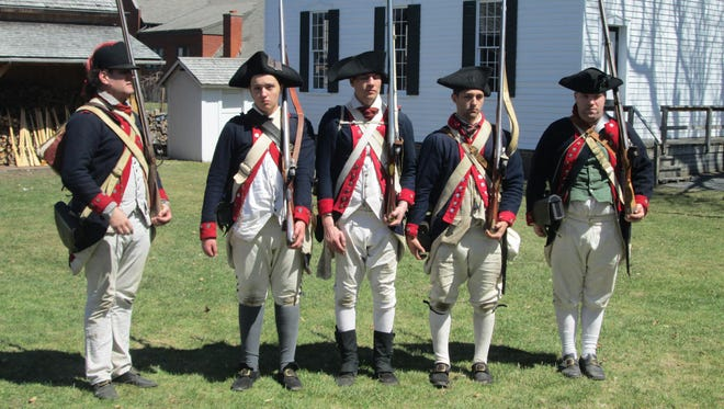 Historic re-enactors will be part of two events this weekend at the Heritage Village of the Southern Finger Lakes in Corning
