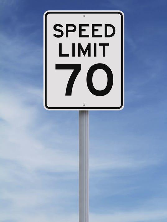 70 mph, speed limit, speedlimit