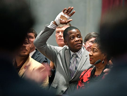 James Shaw Jr. in Nashville on April 24, 2018.