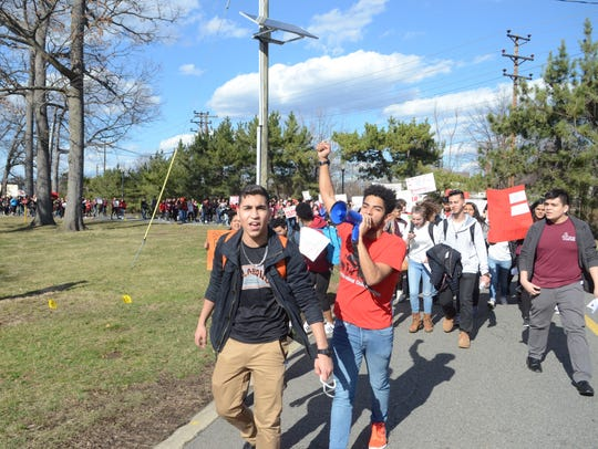 The march, approved by the Clifton City Council, resulted