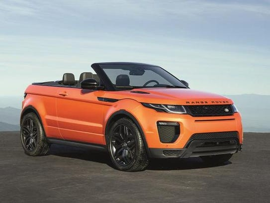 Land Rover Evoque Convertible del 2017