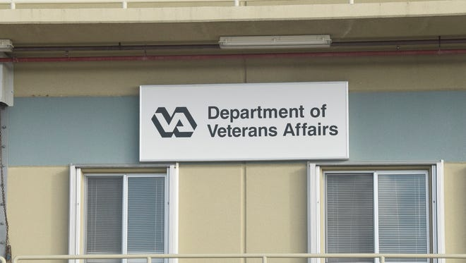 The Department of Veterans Affairs office is shown in this file photo.