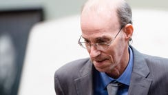 Daniel Edward Greis, 57, who is charged with five counts