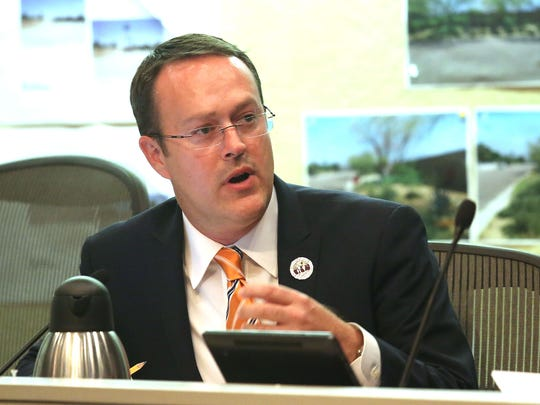 In 2015, then-Mayor Pro Tem Paul Lewin called for an independent investigation of recent city land deals during a Palm Springs City Council meeting after it was revealed the mayor had financial ties to a prominent developer.
