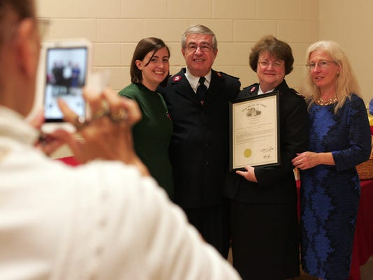Majs. Ron and Diana DeMichael are retiring from the Salvation Army.
