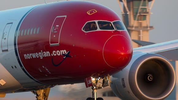 Norwegian Dreamliner flight lays claim to trans-Atlantic